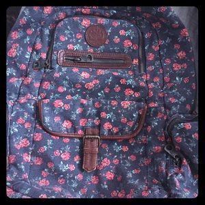 Roxy floral back pack.